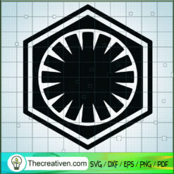 Firts Oder Logo SVG, Star Wars Logo SVG, Star Wars SVG