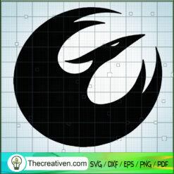 Rebels Phoenix Logo SVG, Star Wars Logo SVG, Star Wars SVG