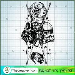 Star Wars Warrior SVG, Star Wars SVG, Spaceship SVG