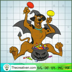 Scooby Doo Halloween SVG, Scooby Doo SVG, Halloween SVG