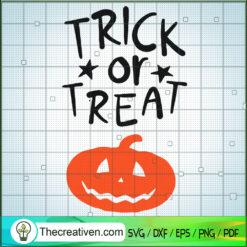 Trick Or Treat Smell Pumpkin SVG, Scary Pumpkin SVG, Halloween SVG