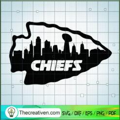 Kansas City Chiefs SVG, Chiefs Logo SVG, NFL SVG