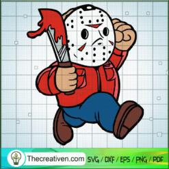 Jason Voorhees SVG, Horror Character SVG, Halloween Horror Movie SVG