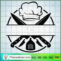 Chef Logo SVG, Chef Hat SVG, Chef Knife SVG