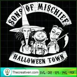 Song Of Mischief Halloween Town SVG, Mischief SVG, Halloween Town SVG