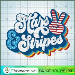 Star & Stripes SVG, America SVG, 4th July SVG