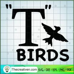T Birds SVG, Birds Hunting SVG, Birds SVG