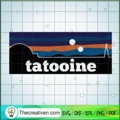Tatooine SVG, Vintage Logo City SVG, Trending SVG
