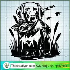 Hunting Dog SVG, Hunting Birds SVG, Hunting SVG