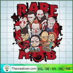Horror Blood Characters SVG, Horror Chibi SVG, Halloween SVG