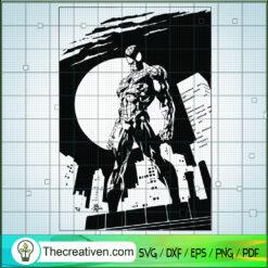 Spider Man Poster SVG, Spider Man SVG, Avengers SVG