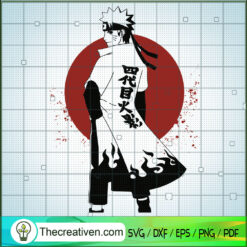 Naruto Hokage SVG, Naruto SVG, Anime Japan SVG, Manga SVG