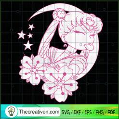 Sexy Sailor Moon SVG, Sailor Moon SVG, Anime Japan SVG