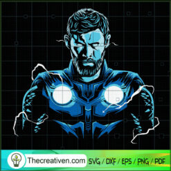 Thor God SVG, Avengers SVG, Marvel SVG