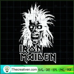 Iron Maiden SVG, Rock Music SVG, Rock Bands SVG