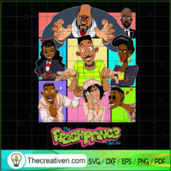 The Fresh Prince Of Bel Air SVG, Fresh Prince SVG, Will Smith SVG