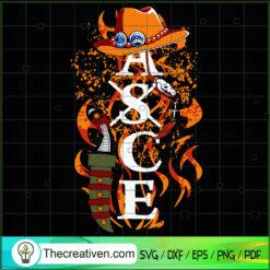Ace One Piece SVG, ASCE SVG, One Piece SVG