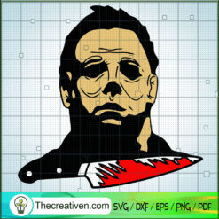 Michael Blood SVG, Michael Myers SVG, Horror Characters SVG, Halloween SVG
