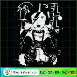Princess Leia Star Wars SVG, David Bowie Rebel Rebel SVG, Pop Star SVG