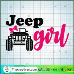 Jeep Girl SVG, Jeep Car SVG, Girl SVG, Jeep SVG