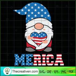 Gnomes Merica SVG, Patriotic Gnomes SVG, Gnomes SVG