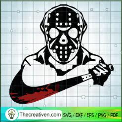 Jason Voorhees Take Nike Knife SVG, Jason Voorhees SVG, Horror Characters SVG