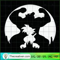 Goku Grape Shadow SVG, Goku SVG, Dragon Ball Z SVG