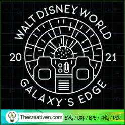 Walt Disney World Galaxy's Edge SVG, Disney SVG, Galaxy SVG