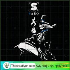 Zhan Sabo SVG, One Piece SVG, Sabo SVG