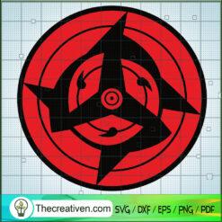 Saringan Eye SVG, Uchiha SVG, Naruto SVG
