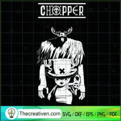 Chopper SVG, One Piece SVG, Anime SVG