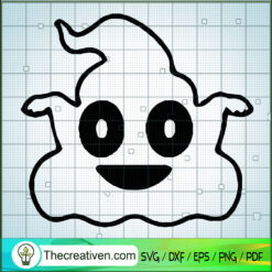Halloween Poop Boo Boo SVG, Halloween SVG, Funny Poop SVG