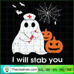 I Will Stab You SVG, Boo Boo SVG, Halloween SVG