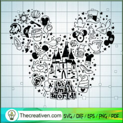 It's a Small World SVG, Disney Bundle SVG, Walt Disney SVG