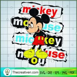 Mickey Mouse SVG, Disney Mickey SVG, Cute Mickey SVG