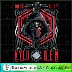 Dark Side Kylo Ren SVG, Kylo Ren SVG, Star Wars SVG