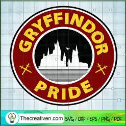Gryffindor Pride SVG, Hogwarts SVG, Harry Potter SVG