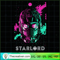 Starlord SVG, Guardians of the Galaxy SVG, Marvel SVG