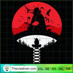 Uchiha Itachi SVG, Naruto SVG, Anime SVG