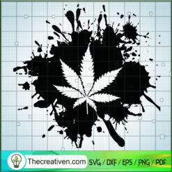 Cannabis Leaves SVG, Cannabis SVG, Leaf SVG