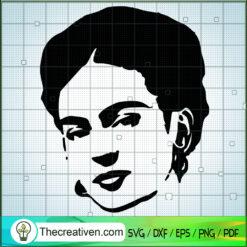 Frida Kahlo de Rivera SVG, Artist SVG, Rest In Peace SVG