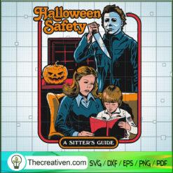 Michael Myers Killer Halloween Safety SVG, Michael Myers SVG, Halloween SVG