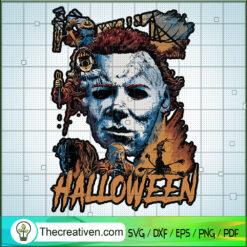 Michael Myers Killer Halloween SVG, Michael Myers SVG, Halloween SVG
