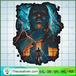 Michael Myers Horror House SVG, Horror Movie SVG, Halloween SVG
