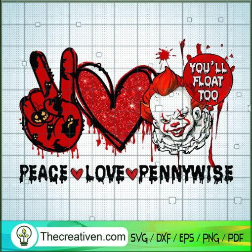 Peace Love Pennywise 1 copy