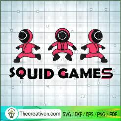 Squid Game Crew Prepare The Game SVG, Squid Game SVG, Hot Movie SVG