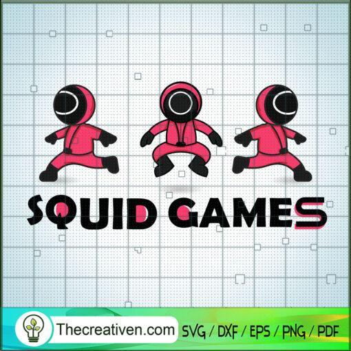 Squid Game Crew Prepare The game copy