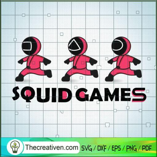 Squid Game Crew Runing Way copy